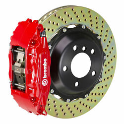 Brembo Gt Bbk For 95-98 240sx / W/ 5-lug Hubs   Front 4pot Red 1b1.7012a2