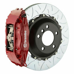 Brembo Bbk For 15-19 Wrx Excl. Models W/ Electronic   Front 4pot Red 1h3.8006a2