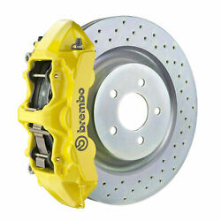 Brembo Gt Bbk For 16-19 Camaro Lt | Front 6pot Yellow 1l4.8018a5