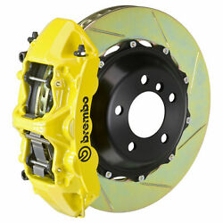 Brembo Bbk For 05-08 Magnum W/v6 Engine Excl. Awd   Front 6pot Yellow 1m2.8027a5