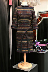 Wool And Cashmere Dress Paris Andndash Byzance Collection