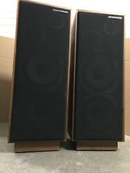 American Acoustics Labs Home Theatre Tower Speakers Vintage Set Of Two- Rare