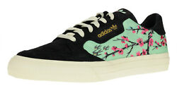 Adidas Men's Continental Vulc Casual Sneaker Black Arizona Tea