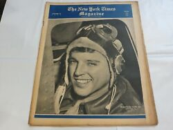 New York Times Magazine October 10 1943 Wwii Sharpshooter Of The Air 9c