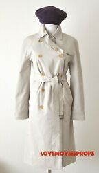 Serendipity Kate Beckinsale Worn Burberry Coat Costume Movie Prop John Cusack
