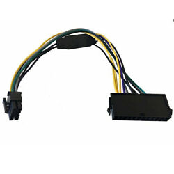 10x Lot New Power Atx Cable 24pin To 8pin For Dell Optiplex 3020 7020 9020 30cm