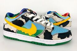 Nike Sb Dunk Low X Ben And Jerryandrsquos Chunky Dunky Dunk Size 9.5 Cu3244-100 In Hand