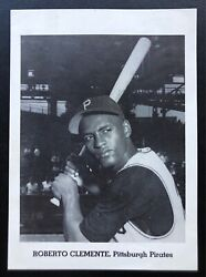 Roberto Clemente Pittsburgh 1962-1965 Jay Publishing Batting Cap Picture Pack
