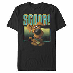 Scooby Doo Scoob! Puppy Frame Mens Graphic T Shirt $20.98