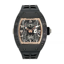 Richard Mille RM022 Asia Edition Carbon Tourbillon Dual Time Zone 48MM Watch