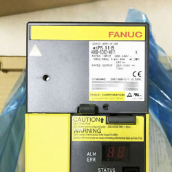 A06b-6202-h011 Fanuc Server Driver Amplifier Aips 11-b New In Box