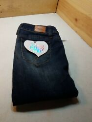 COOL Girls Junior Sz5 YMI Mid Rise Wanna Better Butt Skinny Jeans $24.99