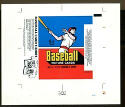 1978 Topps Baseball Cards Wax Pack Wrapper Proof Topps Vault 40576 63133