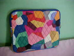 VERA BRADLEY iPad zippered case - POP ART DESIGN 8 12 x 10 12 NWT TABLET