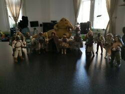 Vintage Star Wars Action Figures - Jabba The Hutt Throne Room 1983