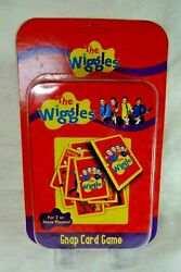 Mjs New The Wiggles Snap Card Game 2008 In Metal Tin