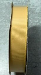 Brand New Roll Of Stampin Up Daffodil Delight Grosgrain Ribbon 5/8 15 Yards