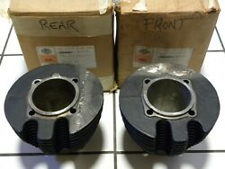 Harley Stock Xr1000 Cylinders 22290-83 And 22291-83 Oem Nos Free Usa Shipping