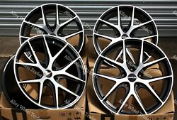 19 Bp Novus 0.1 Alloy Wheels Fits Bmw 8 Series E31 Coupe Old Skool Wider Rear