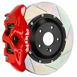 Brembo Gt Bbk For 14-19 Ghibli S-q4 M157   Rear 4pot Red 2s2.9017a2