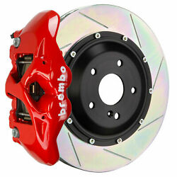 Brembo Gt Bbk For 11-18 Cayenne Turbo 958   Rear 4pot Red 2s2.9006a2