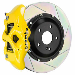 Brembo Gt Bbk For 12-18 G63 Amg / G65 Amg   Rear 4pot Yellow 2s2.9009a5