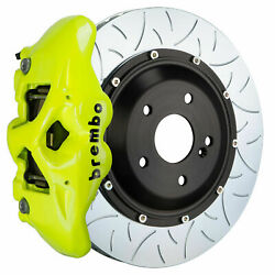 Brembo Gt Bbk For 2019 M2 Competition F87   Rear 4pot Yellow 2s3.9014a7
