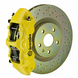 Brembo Gt Bbk For 05-14 Mustang V6 Excl. Non-abs   Front 6pot Yellow 1m4.8001a5
