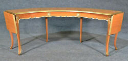 French Paint Decorated Louis Xv Style Wine Tasting Liquor Serving Table C1940s
