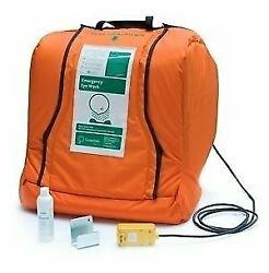 Guardian G1540htr Plastic Aquaguard Gravity Operated Portable Eye Wash With Hea