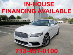 2017 Lincoln Continental PANO ROOF NAVI REVEL AUDIO BACK UP CAM HEATED 2017 Lincoln Continental PANO ROOF NAVI REVEL AUDIO BACK UP CAM HEATED