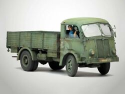 Model Victoria 1/35 Fiat 626 Nlm Italian Truck Wwii With Figure And Decals 4071