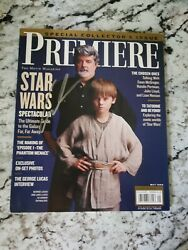 Premiere Magazine Star Wars Special Collection Issue Autographed By George Lucas