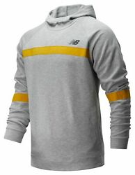 New Balance Men#x27;s NB Classic French Terry Pullover Grey $18.99