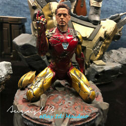 Ironman Statue Figurine Resin Model Collections 1/10 Painted New