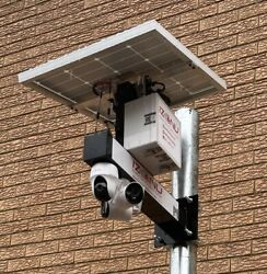 Outdoor Solar 4g Multiple Hd Security Cameras Cctv Farmhomeconstruction Site