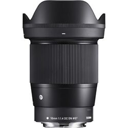 Sigma 16mm F/1.4 Dc Dn Contemporary Lens For Canon Ef-m 402971