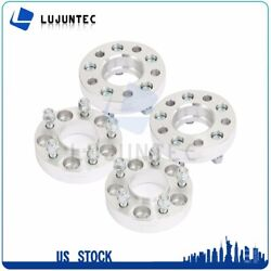 5x4.5 1.25 4 Wheel Spacers Fits Ford Mustang Ranger Explorer Lincoln Town Car