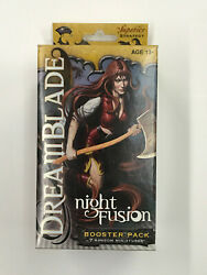 Dreamblade Night Fusion Booster Pack Factory Sealed