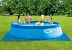 Intex 26165eh 15ft X 48in Easy Set Up Inflatable Above Ground Swimming Pool Set