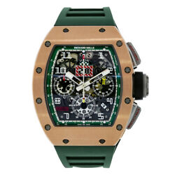 Richard Mille RM011 Le Mans Rose Gold and Titanium Flyback Chronograph 50MM