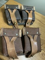 Authentic Soviet Army, Mosin Nagant Brown Artificial Leather Kirsei Ammo Pouch