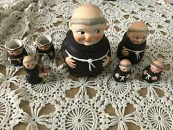 Sale  Goebel Friar Tuck Monk Priest W. Germany 1960's Set Collectible Rare