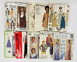 Vintage Sewing Patterns Lot Of 100, 50's To 90's Cut, 566r