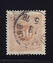 Sweden Scott J10 Vf Used Neat Cancel Nice Color Scv 63 See Pic