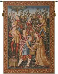 Gobly#x27;s Tapestry Les Vendanges Grape Harvest Wine French Wall 42x58
