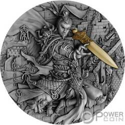 Qin Shi Huang Legends The Great Chinese Emperors 2 Oz Silver Coin 5 Niue 2020