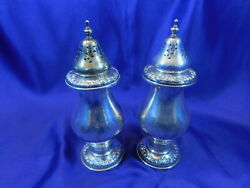 Gorham 1387 Sterling Silver Salt And Pepper Set - Excellent Condition A