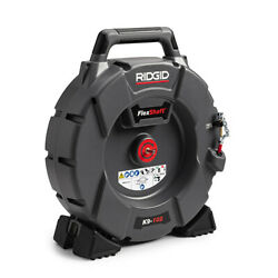Ridgid K9-102 64263 Flexshaft Drain Cleaning Machine With 50and039 Cable