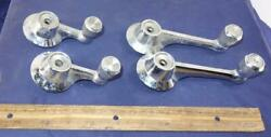 Vintage Ford Galaxie Lot Of 4 Window Crank Handles C5ab 6222916-a And 6223348-a
